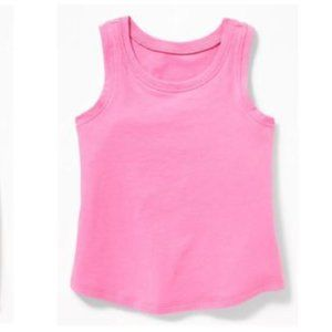 Old Navy Neon Pink Jersey Tank Top